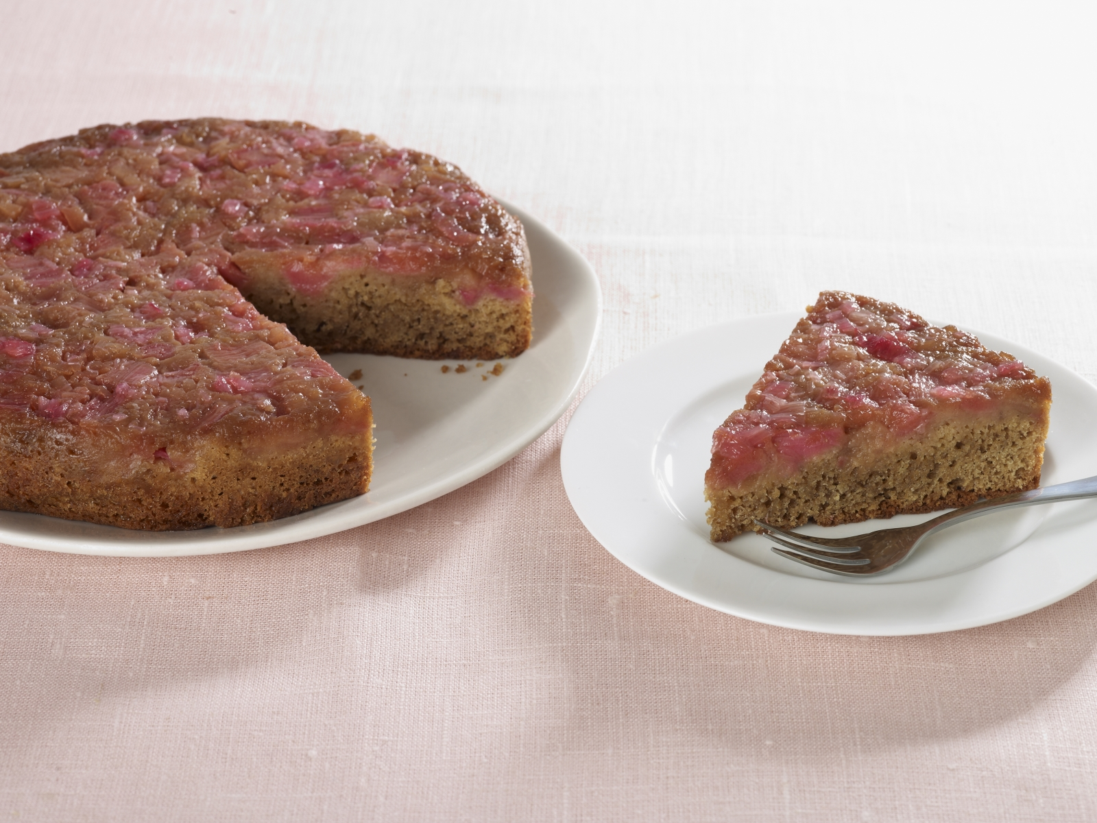 Rhubarb and Ginger Upside Down Cake - Food & Drink - msn