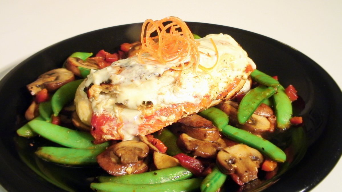 with goat cheese garlic ham cheese stuffed chicken breasts recipe ...