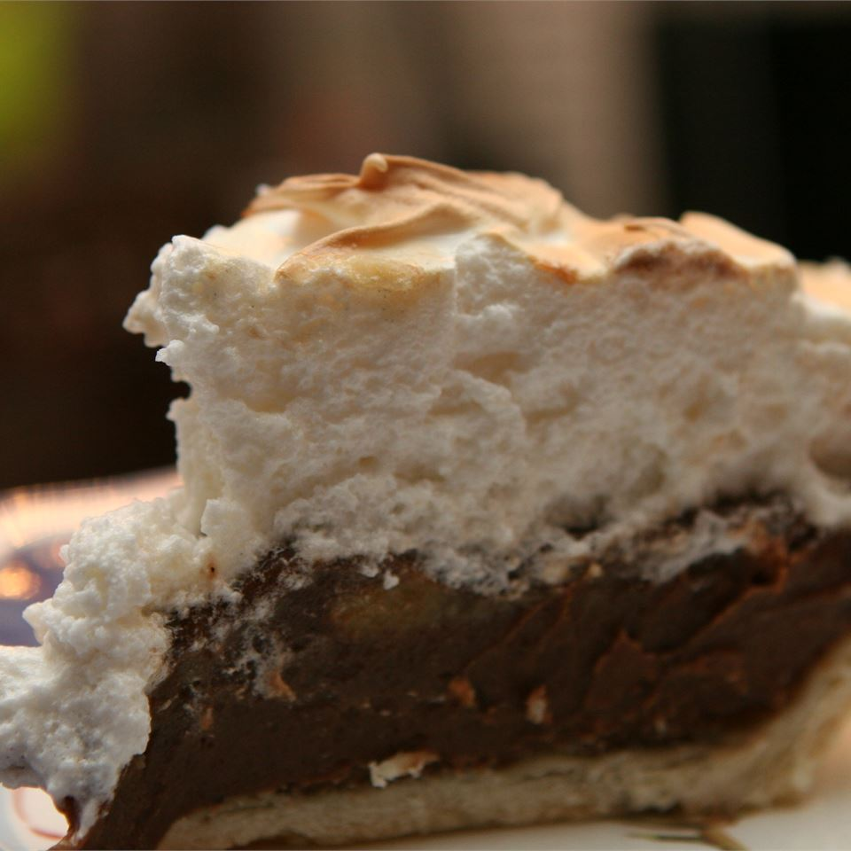 Old Fashioned Homemade Choclate Pie Recipe